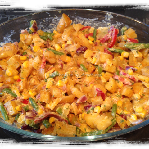 Kartoffel-Curry-Gemüse