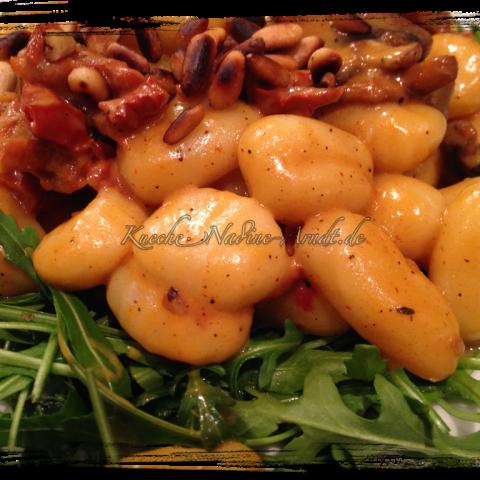 Gnocchi in frischer Pilzsoße