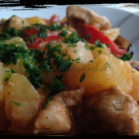 Spanisches Kartoffelragout