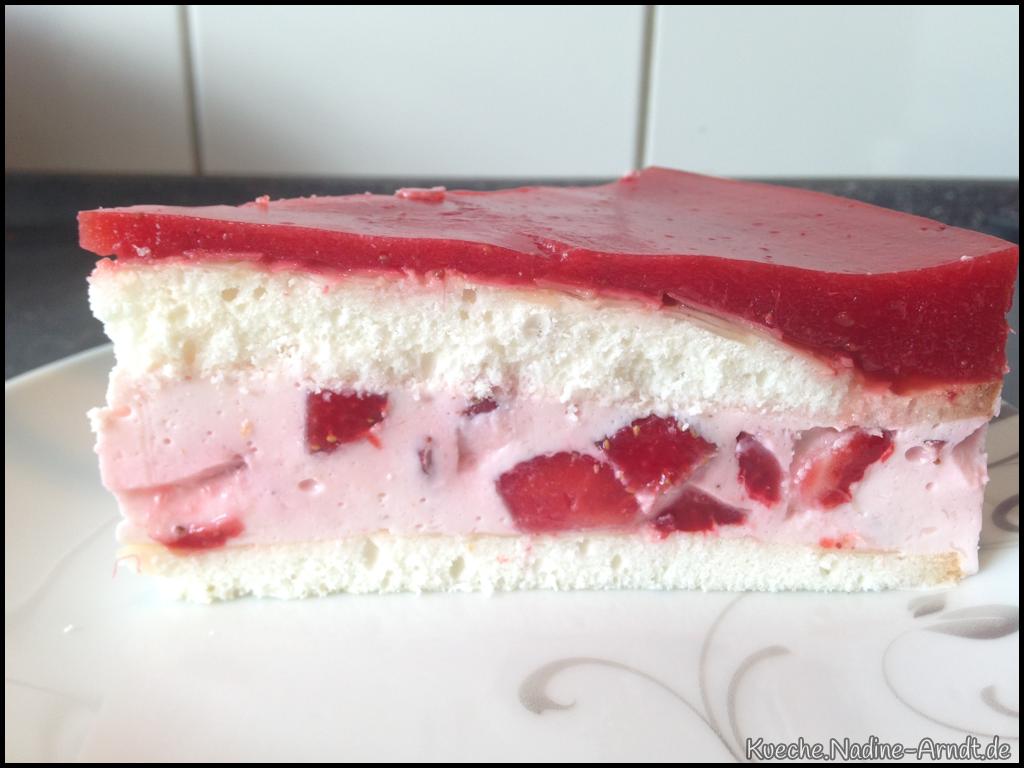 Erdbeer-Joghurt-Torte nach Nadine